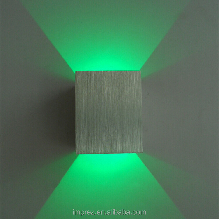 Wholesale Up and down led wall light 1x3W wall led spot light ...