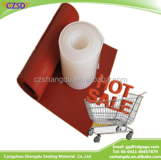 SD High Quality Cheap HighTear-Resistant Heat Resistant Silicone Rubber sheet For Vacuum Membrane Press