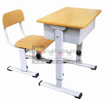 Standard Size Of School Chair And Tables Adjustable Kids Study Table