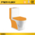 popular middle east washdown ceramic one piece red color bidet toilet