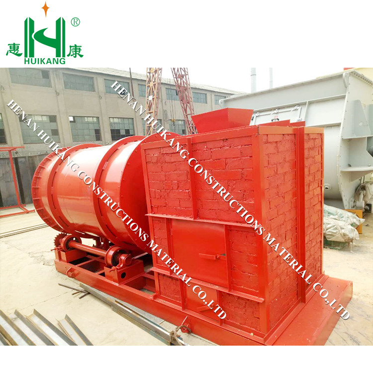 dry mix mortar ceramic tile adhesive plant sand dryer machine/ gas river sand dryer for sale