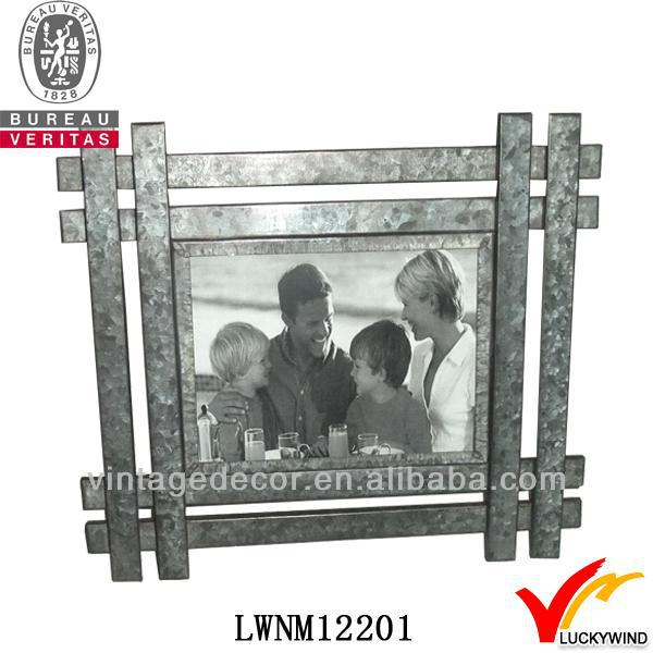 happy leisure family get together metal folk art pictures frame