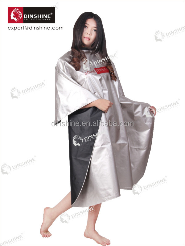 Hair Cutting Gowns,Fabric Salon Cape,Custom Hairdressing Gowns - Buy ...