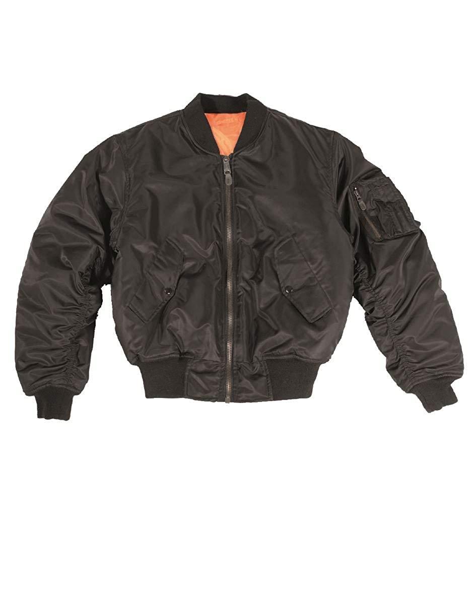 New Ladies Women Girls Ma1 Stylish Vintage Zip Up Harrington Bomber Jacket Top