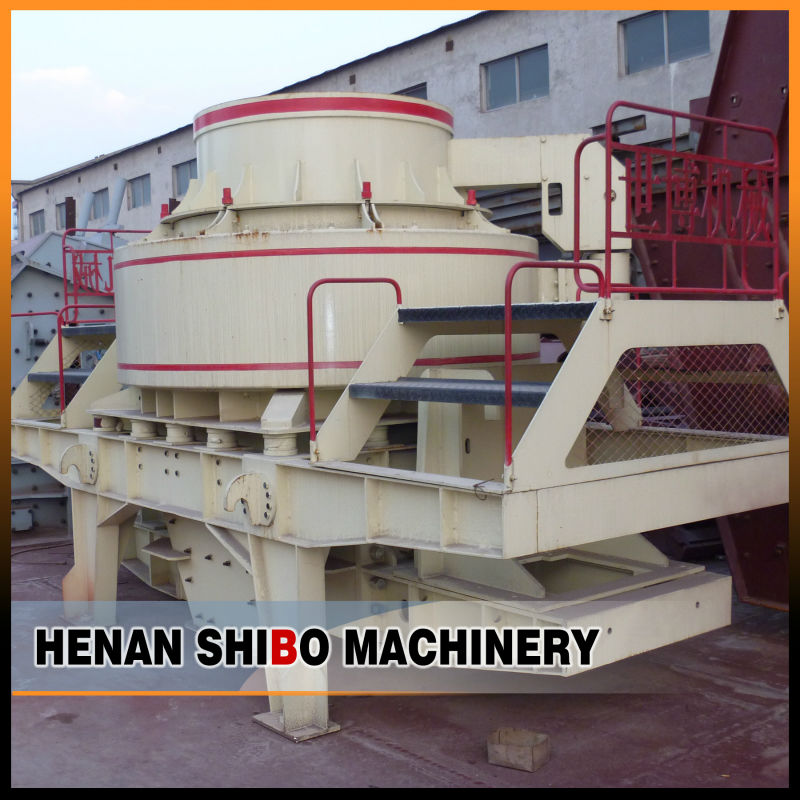 used artificial small autoclave fine vertical shaft vsi crusher/sand making machine for sale