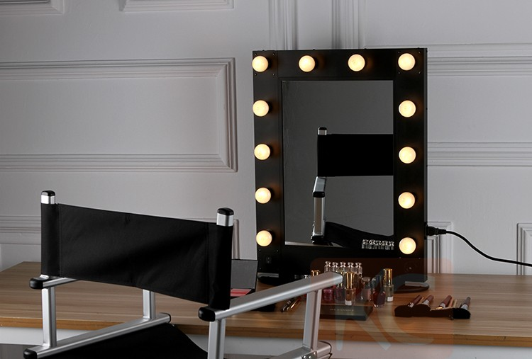 Professionnel Hollywood Style Maquillage Miroir Avec Led