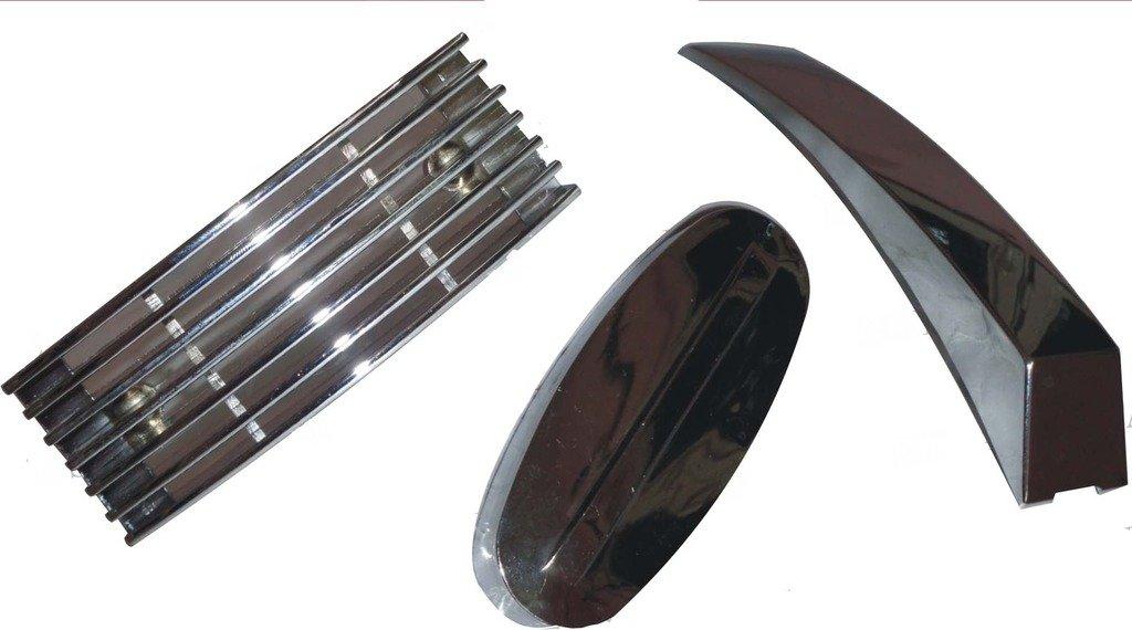 Buy Royal Vintage Spare A99 Vespa Px Lml Efl Chrome Set Of Mudguard