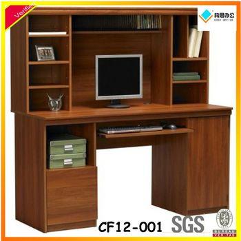 Factory Price Wooden Computer Shelf Long Study Computer Desk Simple  Computer Table Design