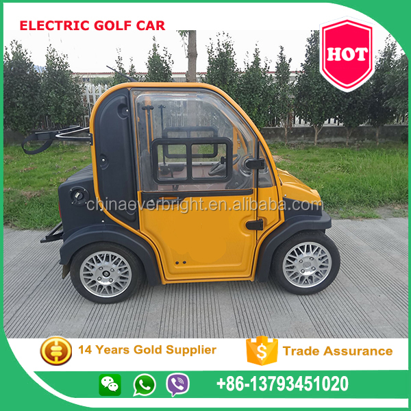 Two / 2 Seats Mini Electric Car/legal Street Golf Cart/Electric golf cars