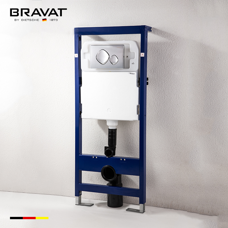 concealed cistern for wall hung toilet cistern mechanism for ceramic toilet  D912N, View toilet cistern mechanism, BRAVAT Product Details from Bravat