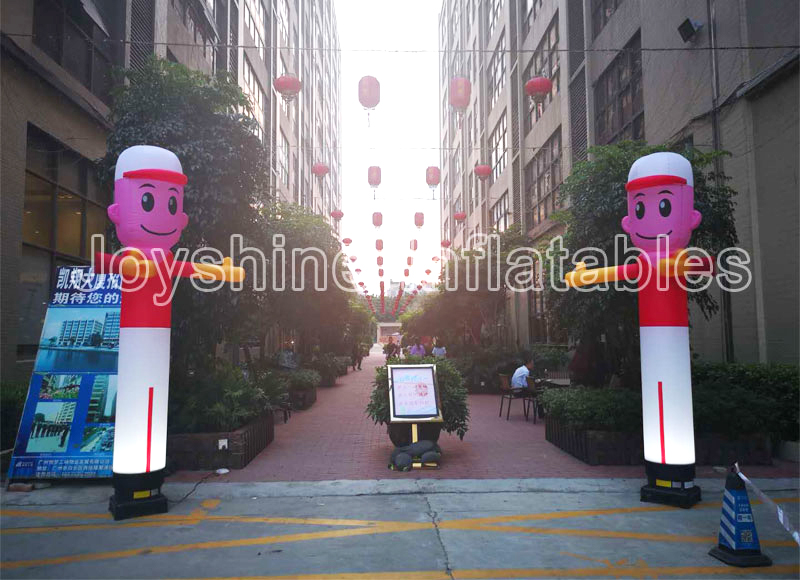 Factory Custom Wacky Inflatable Tube Man Airdancer Guy Dancing Air Puppet Party Events Used Air Dancers With Blower