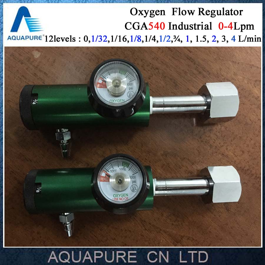 Brass Oxygen Regulator