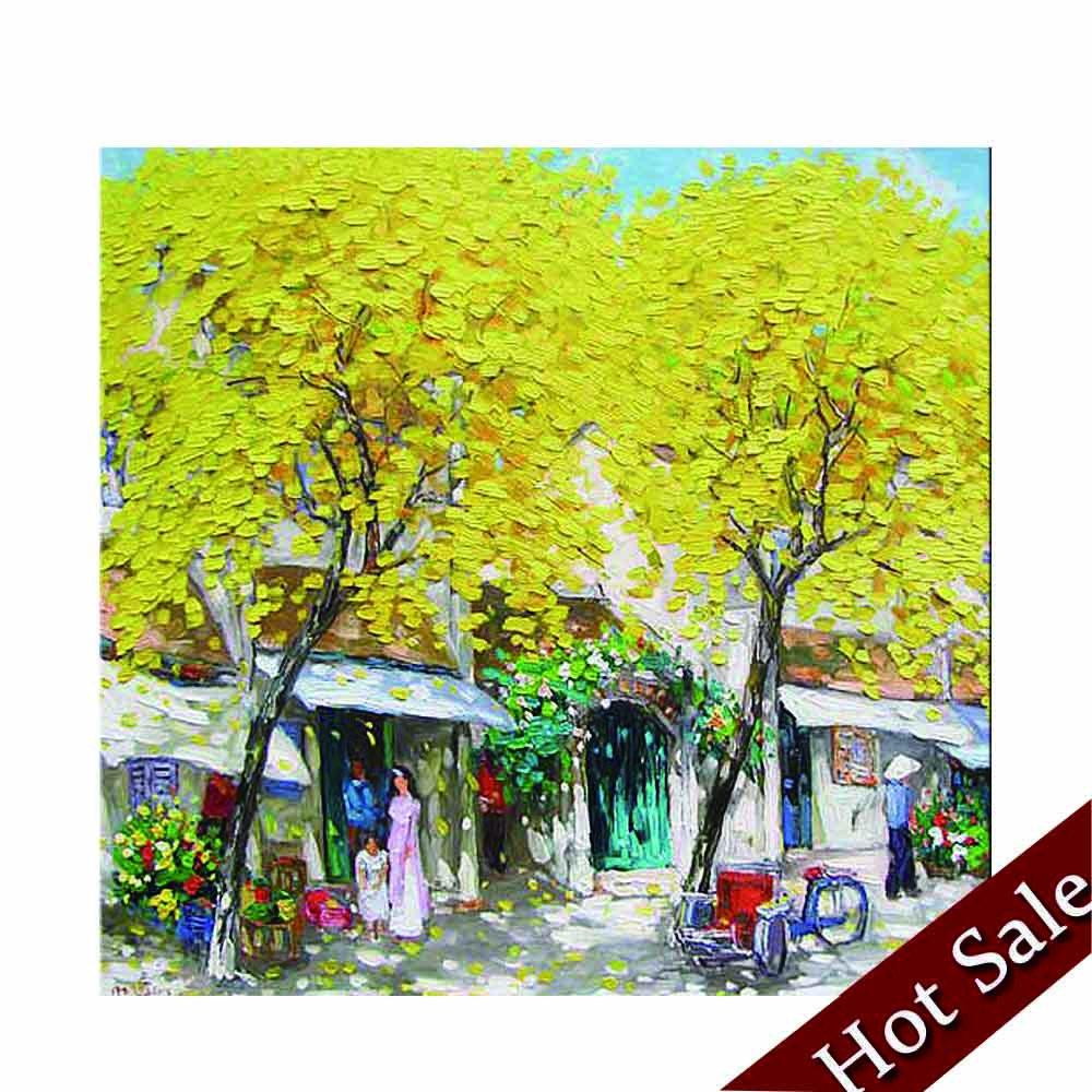 Yellow Tree Painting, Yellow Tree Painting Suppliers and ...