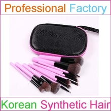 Best-selling Traveling Brush 12pcs Makeup Brushes set with Colorful Case