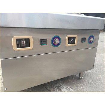 commercial pressure tempura german stir gas batch fryer machine double commercial deep fryer