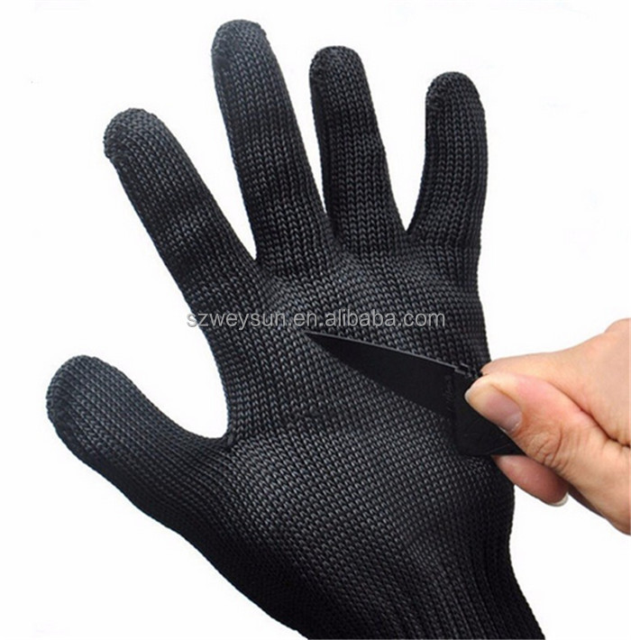 Safety <strong>Gloves</strong> Protect Stainless Steel Wire <strong>Gloves</strong> Cut Metal Mesh Butcher Anti-cutting Breathable Work <strong>Gloves</strong>