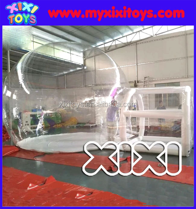 4m dia event inflatable bubble house, inflatable bubble dome tent for party