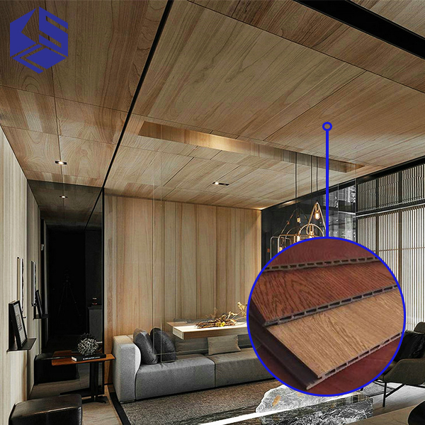 Non toxic eco friendly bamboo wall panel composite wood ceiling panel for clinic