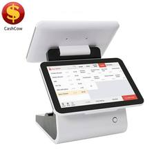 CashCow 2018 new model touch screen pos systempos terminal cheaptouch ordering system with 58mm printer