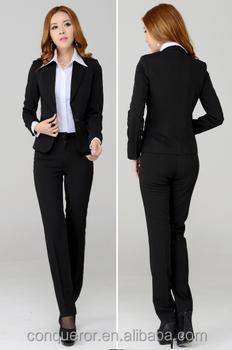 Ladies Office Wear Suit Fashion Pant Suits Buy Ladies Formal
