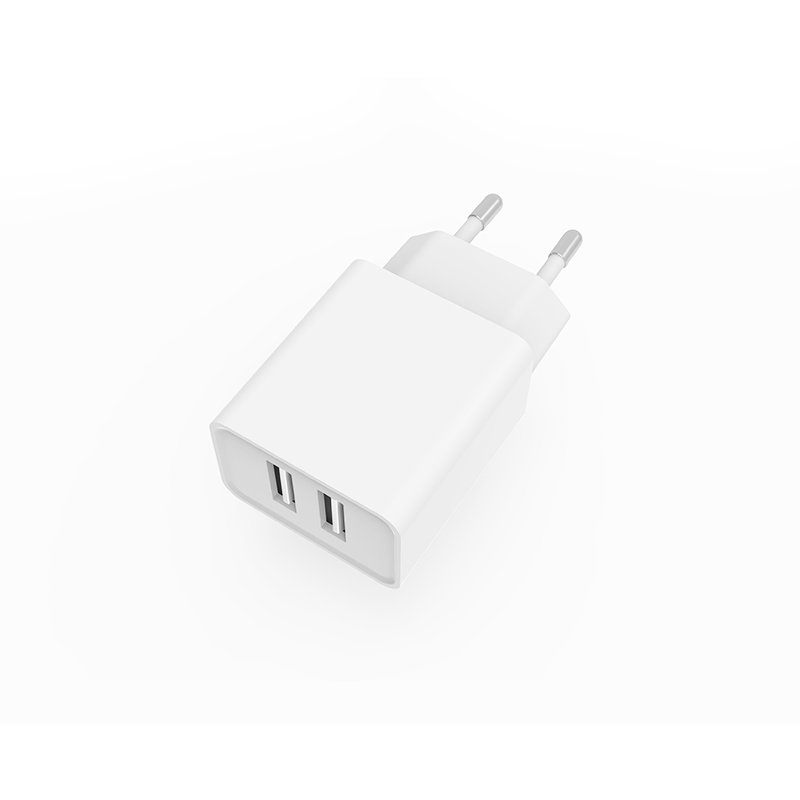 Phone Accessories Dual USB 5V 2.4A Wall Charger