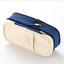 Большой Вместительный чехол для карандашей, для офиса, колледжа, школы, детей, Большой размер для хранения, сумка, держатель, коробка, органа...(Китай)
