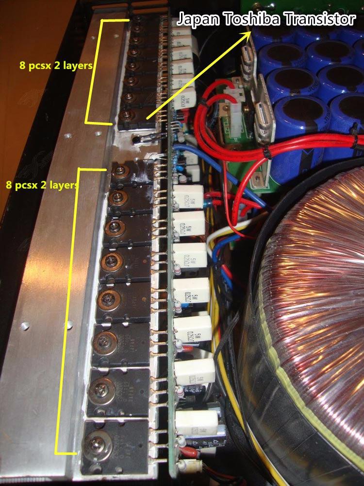 50 Watt Transistor Amplifier Circuit