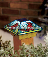 Cardinal Solar Post Cap Light Fits 4