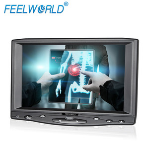 "FEELWORLD touch screen hdmi led monitor 7"" with VGA AV1AV2 input for car audio system"