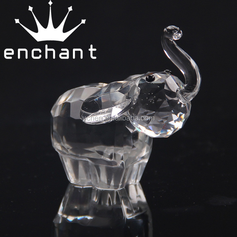 Beautiful Crystal Glass Elephants, Crystal Glass Elephants Suppliers And  Manufacturers At Alibaba.com