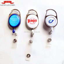 Kustom Id card holder badge reel, kartu Id plastik <span class=keywords><strong>YOYO</strong></span>