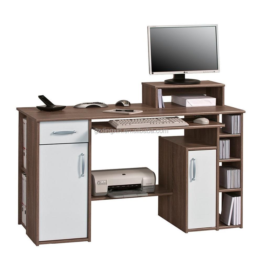 Computer Hubtisch Mit Schublade Drucker Regal Buromobel Design Dx