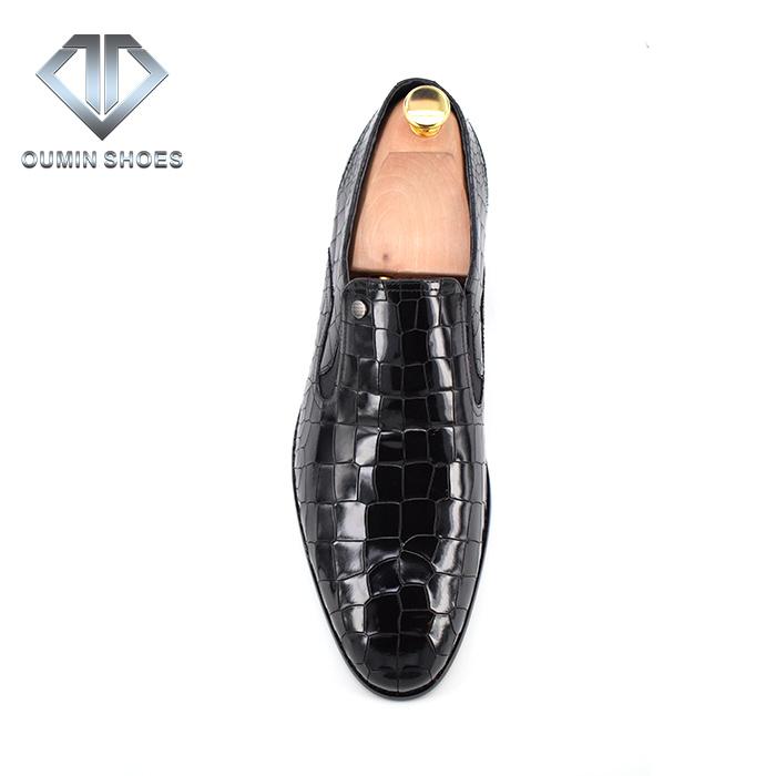 men suit shoes shiny leather for shoes dress men's Crocodile qxwPWO8w