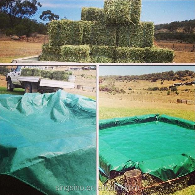 Hay Bale Swimming Pool Covers Home Pe Tarps Cover Inground Swinmming Product