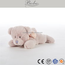 Customized animal shaped soft plush toy bear