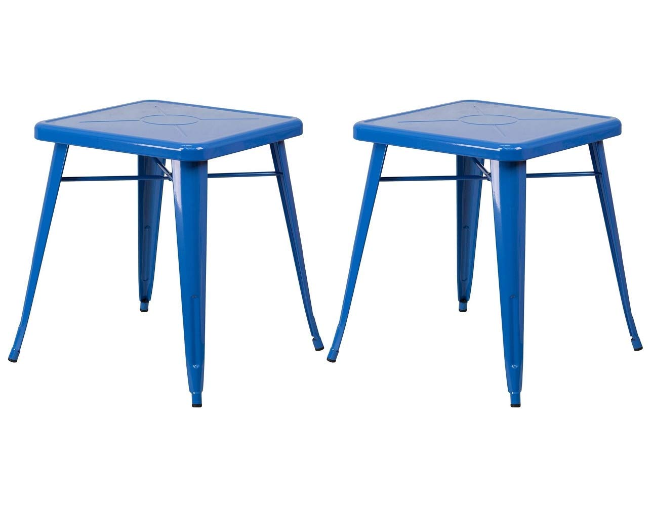 Get quotations · kls14 modern vintage style lounge pub bar bistro dining table solid powder coated metal frame patio