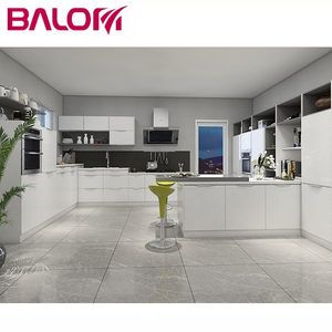BALOM white lacquer kitchen cabinet simple styles fair price specials