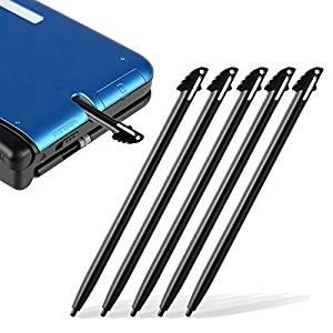 5 Pcs Black Plastic Touch Screen Stylus Pen For Nintendo 3Ds Xl Ll