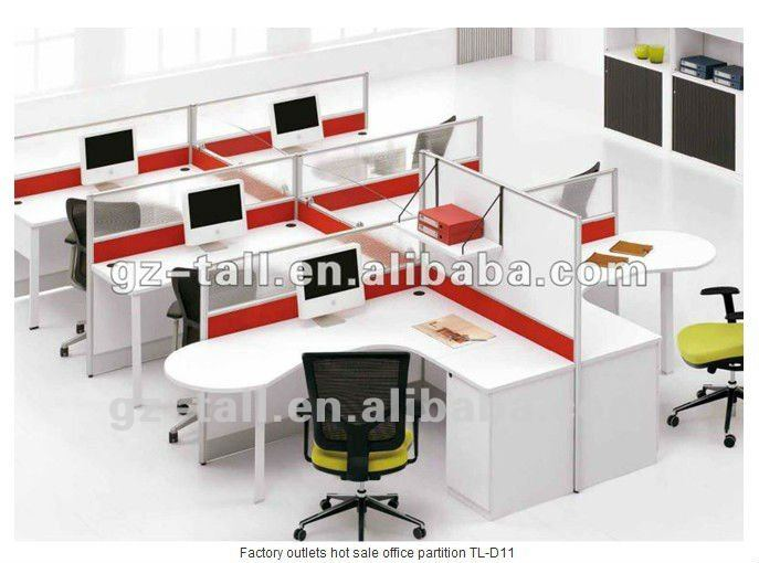 6 Seats Wooden Glass Office Partitions Cheap - Buy Office ...