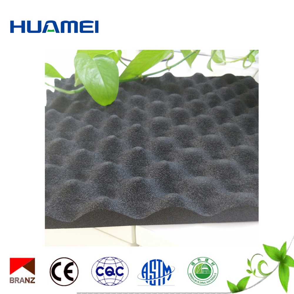 cheap soundproof materials acoustic rubber foam sheets for sale
