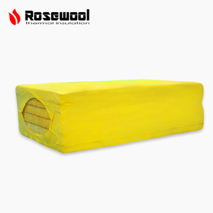 Construction materials resin bonded fireproof rock wool felt