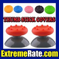 Analog Thumb Stick Caps Grips For Xbox 360 Controller Ps3 Wii ...