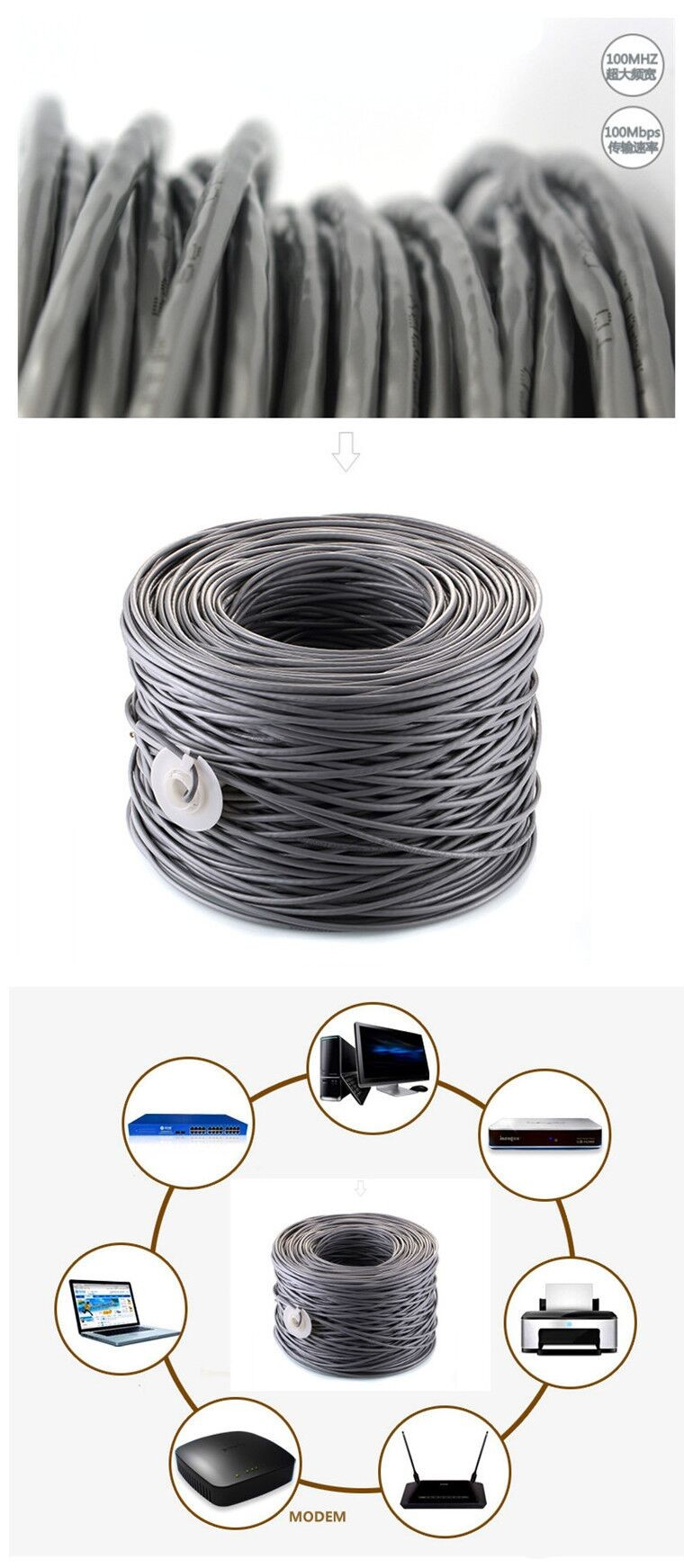 Wholesale Factory The Best Price Network Cable 2/4pairs 24awg Utp ...