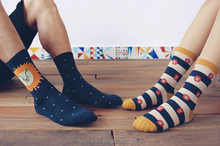 Unique design wholesale men dress crew cotton socks