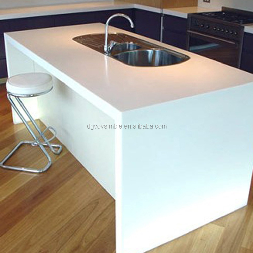 Solid Surface Kitchen Top Rubber Countertops