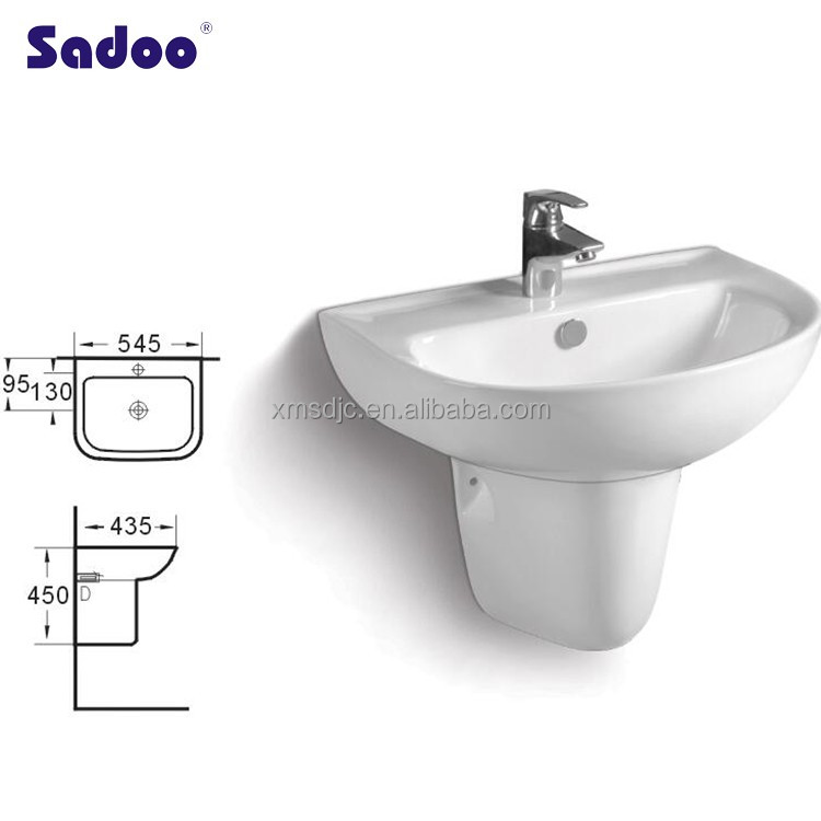 Bathroom Ceramic Basin For Children Size