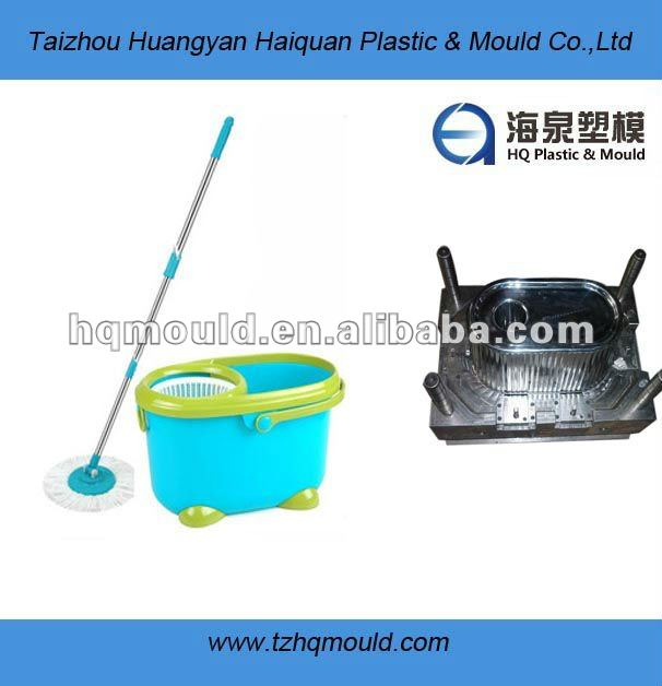 Process durable spin mop mold