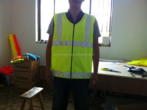 The el safety vest/el vest with reflective tape class 2