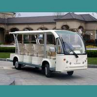 OEM 10 seats white color electric Tourist bus with high quality