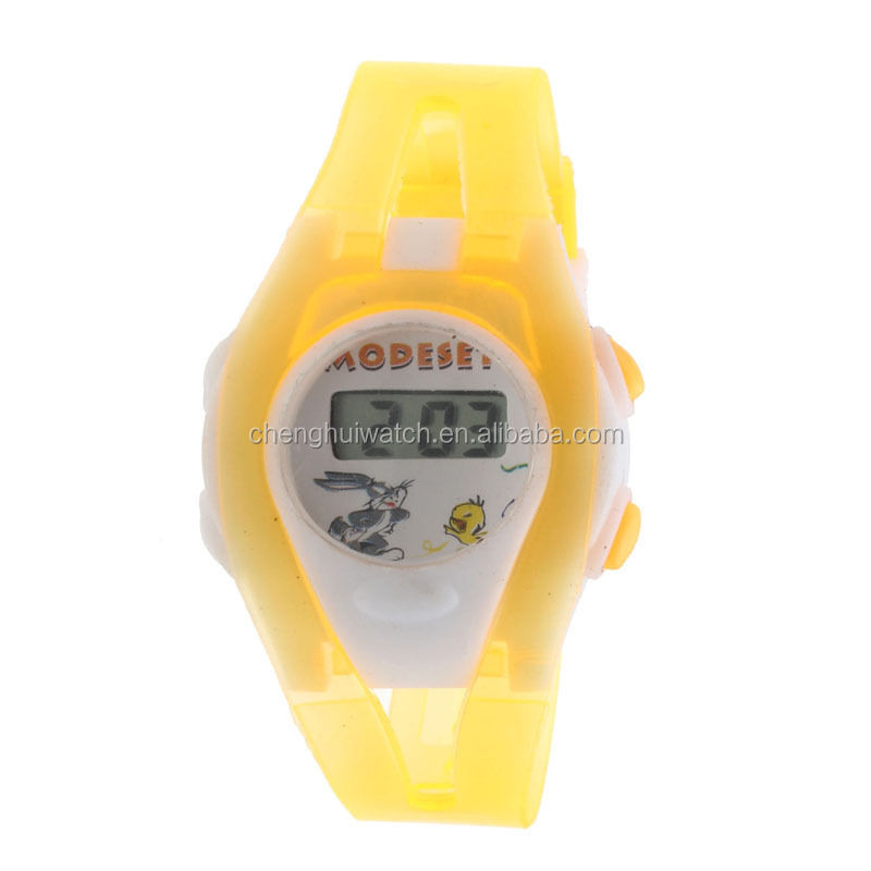 2017 Hot Boy Girl student digital watch time LED sport wrist watch for children